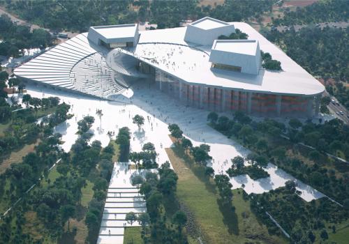 Snøhetta赢得上海大歌剧院设计竞赛,方案公布