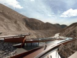 险中求险:西藏·八宿·怒江72拐峡谷观景台 / 小隐建筑