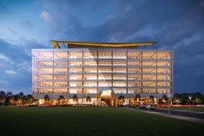 加拿大最高木构办公建筑:77 Wade Avenue / Bogdan Newman Caranci