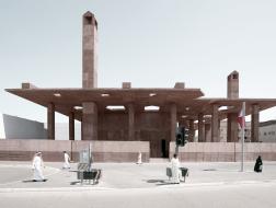 联合国教科文组织文化遗址博物馆入口 /  Valerio Olgiati