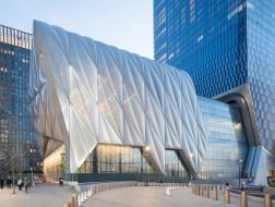 哈德遜廣場藝術中心、可移動的神奇建筑The Shed明日開幕