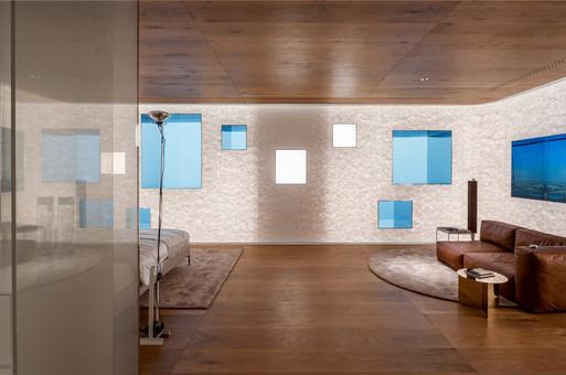 模糊时空的未来居住体验:无界客房 / SODA Architects