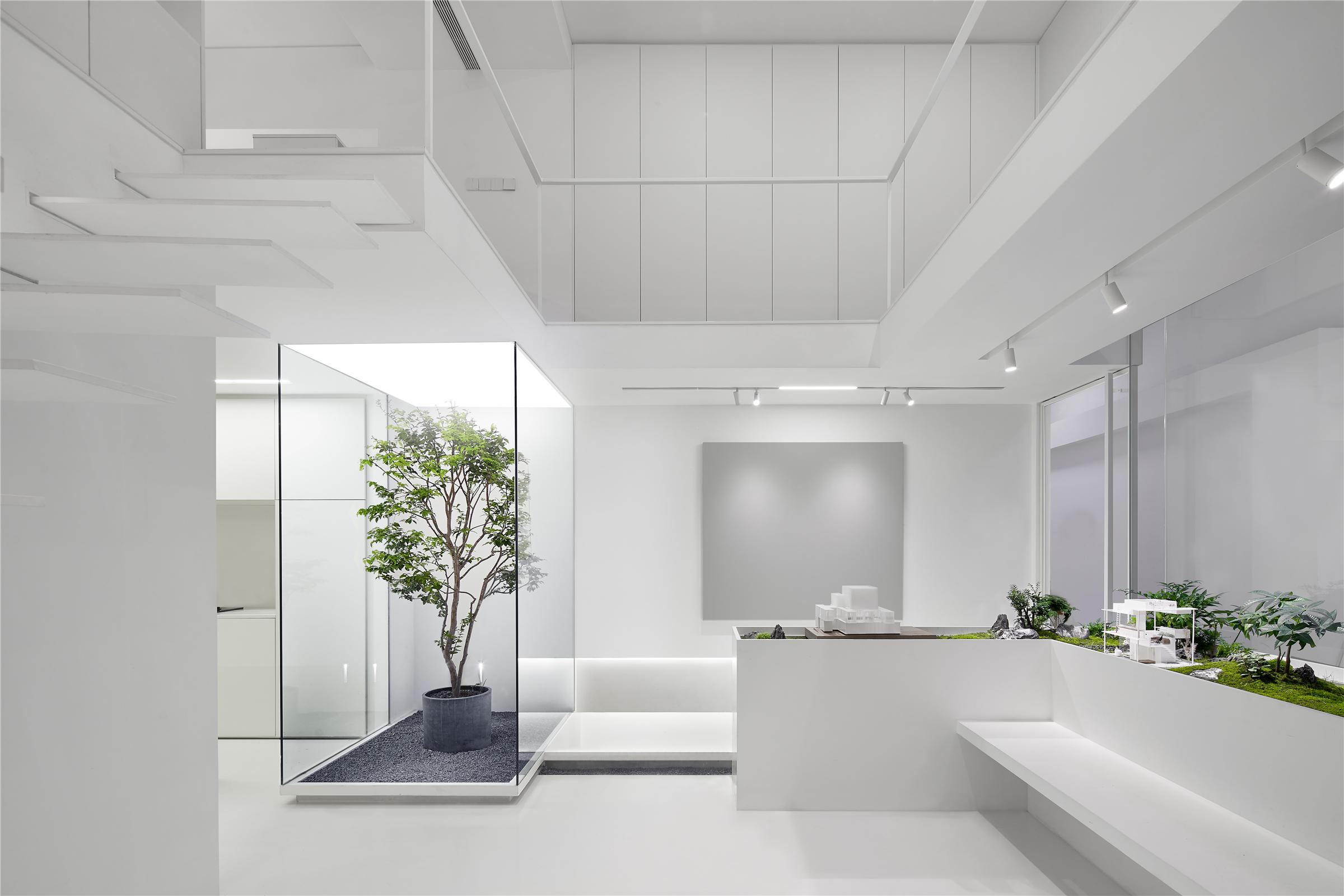 6人办公室_每个人的花园,生态办公改造:目心新办公室 / 上海目心设计 ...