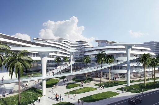海洋天堂:马尔代夫临空经济区 / CAA建筑事务