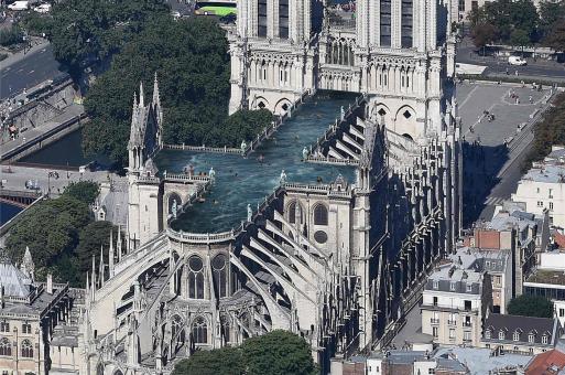 7个一反常规的巴黎圣母院提案