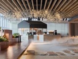 这个咖啡馆有点儿仙:Seesaw Coffee朝阳大悦城 / nota建筑设计工作室