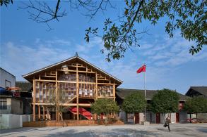 高步书屋:为侗寨儿童设计的图书馆 / Condition Lab