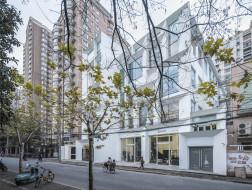上海老街区的静谧之地:华山路U-CUBE改造 / 上海日清建筑设计有限公司