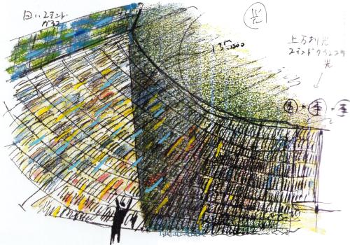 建筑绘 | 安藤忠雄的草图