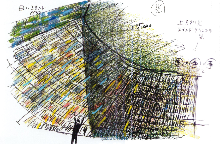 建筑绘   安藤忠雄的草图