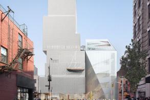 OMA在紐約首個公共建筑,紐約新當代藝術博物館加建