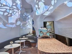 凝固的海水与游动的珊瑚:Blufish盈科店 / SODA建筑师事务所
