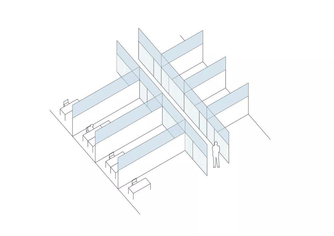 新作 | 骨架与填充:交通物资仓库改造 / 亘建筑事务所