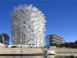 新城市遗产:L'Arbre Blanc住宅公寓 / 藤本壮介建筑事务所、Nicolas Laisné、Dimitri Roussel、OXO建筑事务所
