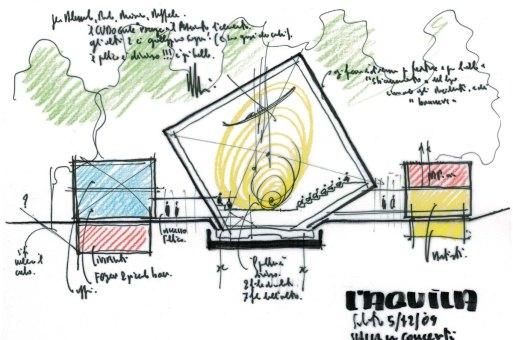 建筑绘 | 伦佐·皮亚诺的草图