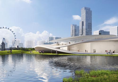 SANAA最新设计:昆山博物馆概念方案公布