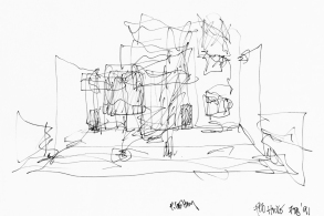建筑繪 | 弗蘭克·蓋里的草圖