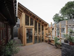 围一个院子,造一间画室:胡同滤镜 / ZAI