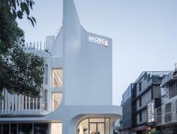外墙曲面变形,中庭画龙点睛:静安商楼建筑更新 / ArchUnits|一栋设计工作室
