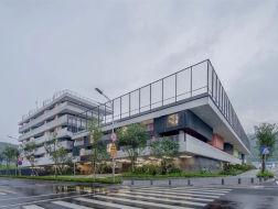 透析密度,城市方舟:深圳红岭实验小学 / 源计划建筑师事务所