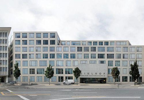 作为城市建筑的教育建筑:苏黎世经济学院Sihlhof教学楼 / Giuliani Hönger Architekten