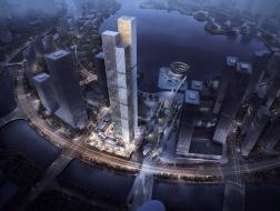 未来长沙城市地标:长沙金茂大厦 / Aedas