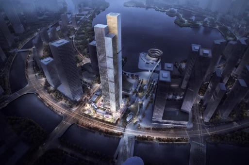方案 | 未来长沙城市地标:长沙金茂大厦 / Aedas