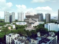 城市中的立体公园:粤海街道文体中心 / URBANUS都市实践