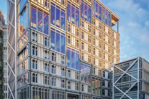 """罗杰斯事务所新作竣工——伦敦政经校园里的新""""高技派"""""""