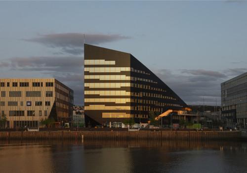 Snøhetta新作:Brattørkaia能源大楼,面向未来的负能耗建筑
