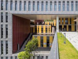 多层都市合院:香港中文大学(深圳)学生中心与逸夫书院 / 王维仁建筑设计研究室
