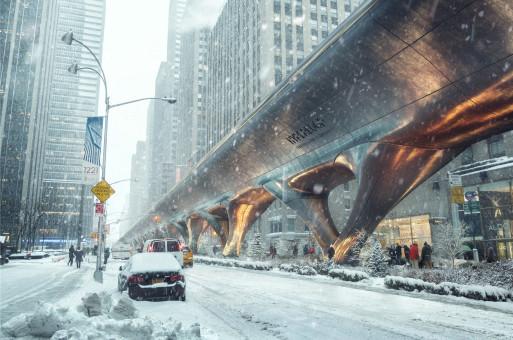 """MAD """"超级高铁""""最新概念方案:通向未知的时空隧道"""