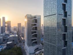 深圳百度国际大厦:联动内外的交错平台 / CCDI东西影工作室