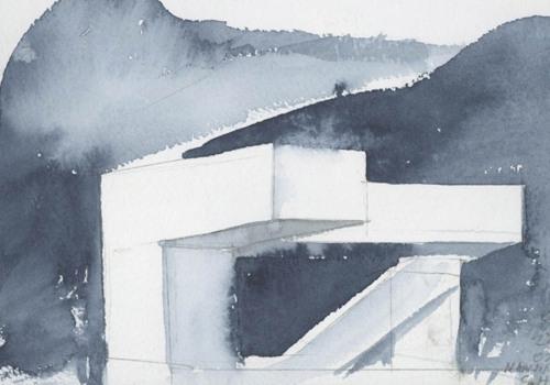 建筑绘 | 斯蒂文·霍尔的水彩