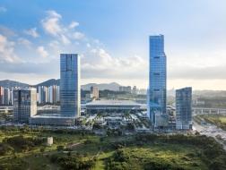 285米TOD超高层:深圳北站汇德大厦 / HPP建筑事务所