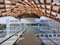 坂茂最大木结构项目瑞士开幕,探索木建筑发展潜力