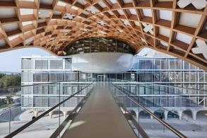 坂茂最大木結構項目瑞士開幕,探索木建筑發展潛力