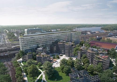 MVRDV最新方案:凡·艾克办公综合体作品翻新与扩建,激发经典的活力