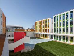成长历程的彩色记忆:榆林市高新区第三小学 / 清华大学建筑设计研究院、清华大学建筑学院