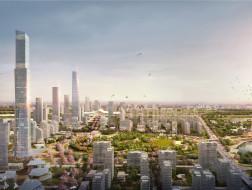 以绿网整合城市:武汉杨春湖商务区规划 / Sasaki + Arup + JLL + 武汉市规划研究院