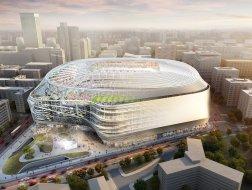 皇马新球场改造项目启动,预计2022年竣工