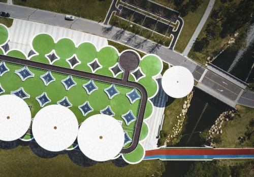"""""""伞状树林"""":临平体育公园配套工程项目 / 筑境设计"""