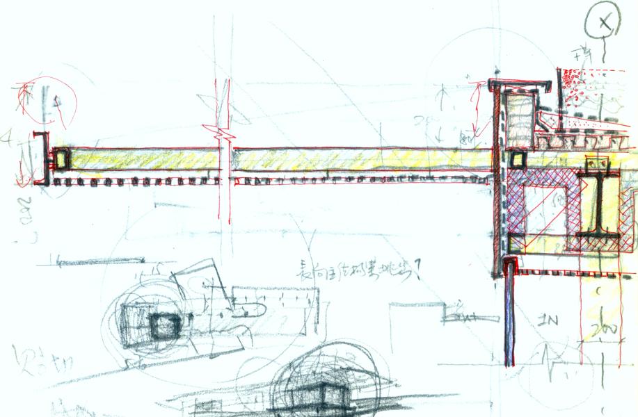建筑绘 | 董功:这些节点草图在回应建筑的本质问题