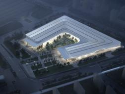 西安空港国际会展中心:因地制宜的U形布局 / 华建集团华东建筑设计研究总院