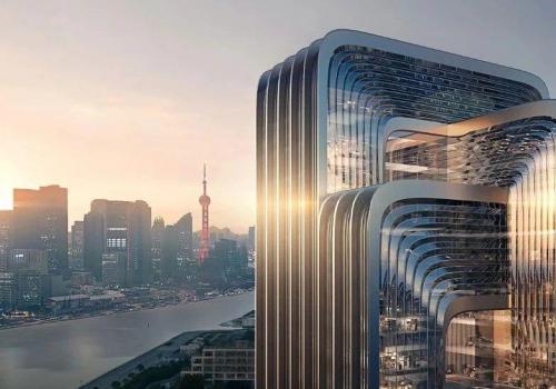 扎哈事务所赢得中国节能环保集团上海新总部设计竞赛