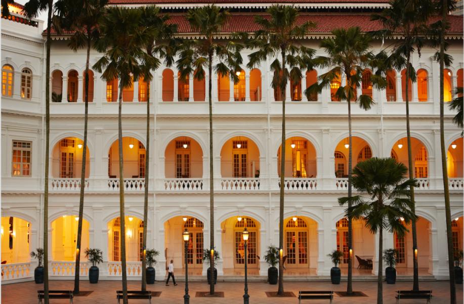 下榻地 | 莱佛士酒店:浪漫新加坡