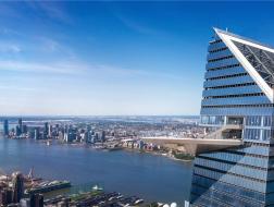 西半球最高室外观景台开放,透过玻璃俯瞰纽约州80英里美景