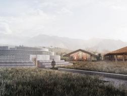 方案 | 山水景观与传统工艺交融:峨眉山麦芽威士忌酒厂 / 如恩设计研究室