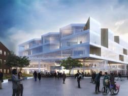 Forum Medicum大楼:旋转体量创造活跃空间 / Henning Larsen Architects