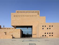 敦煌市公共文化综合服务中心:戈壁中的烽燧 / 中旭建筑设计有限责任公司